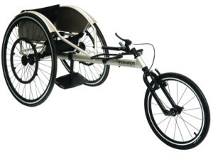 Flying Start Racing Wheelchair iso view