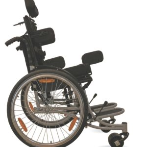 WhizKid Wheeled Postural Support System side view